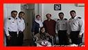 دیدار با همسر آتش نشان فداکار حسن زردانی فلاح/ آتش نشانی رشت